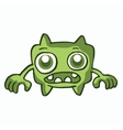 Wide monster collection cartoon for kids vector image