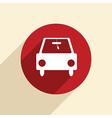 car symbol vector image