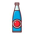 soda bottle icon cartoon style vector image