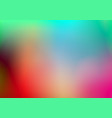 abstract blurred colorful background vector image vector image