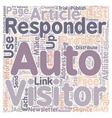 crochet hat 1 text background wordcloud concept vector image vector image