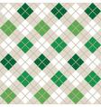 green argyle harlequin seamless pattern vector image vector image