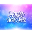 Happy New Year colorful magic background vector image