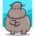 Hippo or Hippopotamus Cartoon vector image vector image