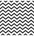 seamless pattern zig zag vector image vector image