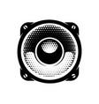 stylish monochrome detailed vector image vector image