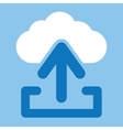 Upload from cloud icon vector image