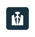 business wear icon Rounded squares button vector image vector image