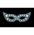 Diamond Mask vector image