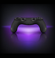 gaming gamepad realistic composition vector image