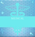 Medical vector image vector image