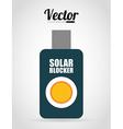 sun block vector image