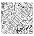 Website Or No Website text background wordcloud vector image vector image