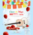 mexican holiday composition vector image