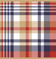 pixel plaid textile tartan seamless pattern vector image vector image