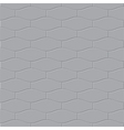The gray paving stone seamless vector image vector image