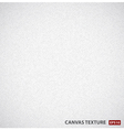 white canvas background texture vector image