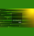 abstract motion green background vector image