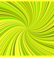 abstract swirl background from spiral rays vector image vector image
