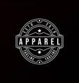 classic vintage retro label badge logo design vector image vector image