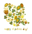 Cute colorful stpatricks day background vector | Price: 1 Credit (USD $1)
