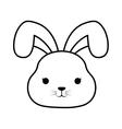 Cute rabbit kawaii style