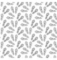 footprints of shoes seamless pattern traces of vector image vector image
