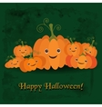 for the celebration of Halloween vector image