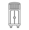 house floor conditioner icon outline style vector image
