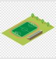 Isometric football field vector image vector image