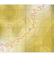 mountain pass vector image vector image