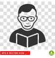 Reader EPS Icon vector image vector image