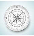 Realistic compas icon vector image