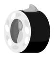 Sushi icon gray monochrome style vector image vector image