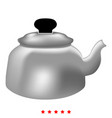 teapot icon color fill style vector image vector image