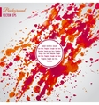 Abstract background with bright blots and splatter vector image vector image