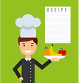 cooking concept design vector image vector image