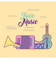 love classical music vector image