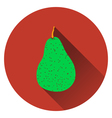 Pear icon vector image vector image