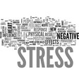 what are the negative effects of stress text word vector image vector image