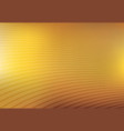 abstract gold and yellow mesh gradient with curve vector image vector image