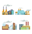 Building industry icons set vector image vector image