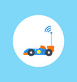 car toy icon sign symbol vector image