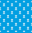 insurance family pattern seamless blue vector image vector image