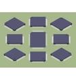 Microchips vector image