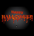 halloween with spider party background vector image vector image