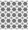maritime mood seamless nautical pattern vector image