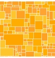 Seamless Orange Rectangular Structured vector image vector image