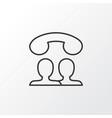speaking people icon symbol premium quality vector image