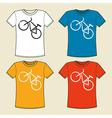 T-Shirt Print vector image vector image